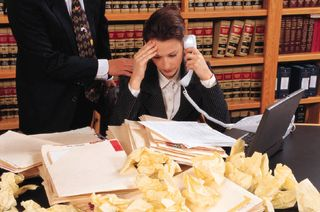 Lawyer buried under paperwork