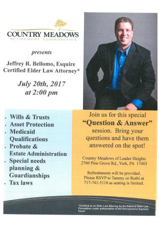 Country Meadows Q A