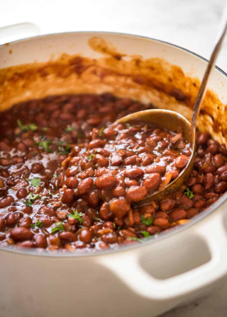 Homemade-Baked-Beans-with-Bacon